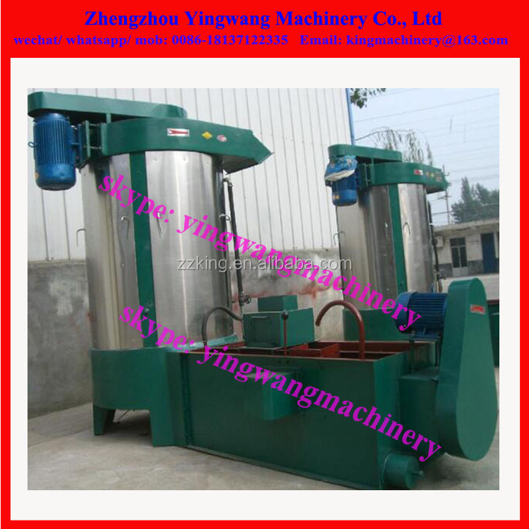 Wheat washing machine for flour mill plant