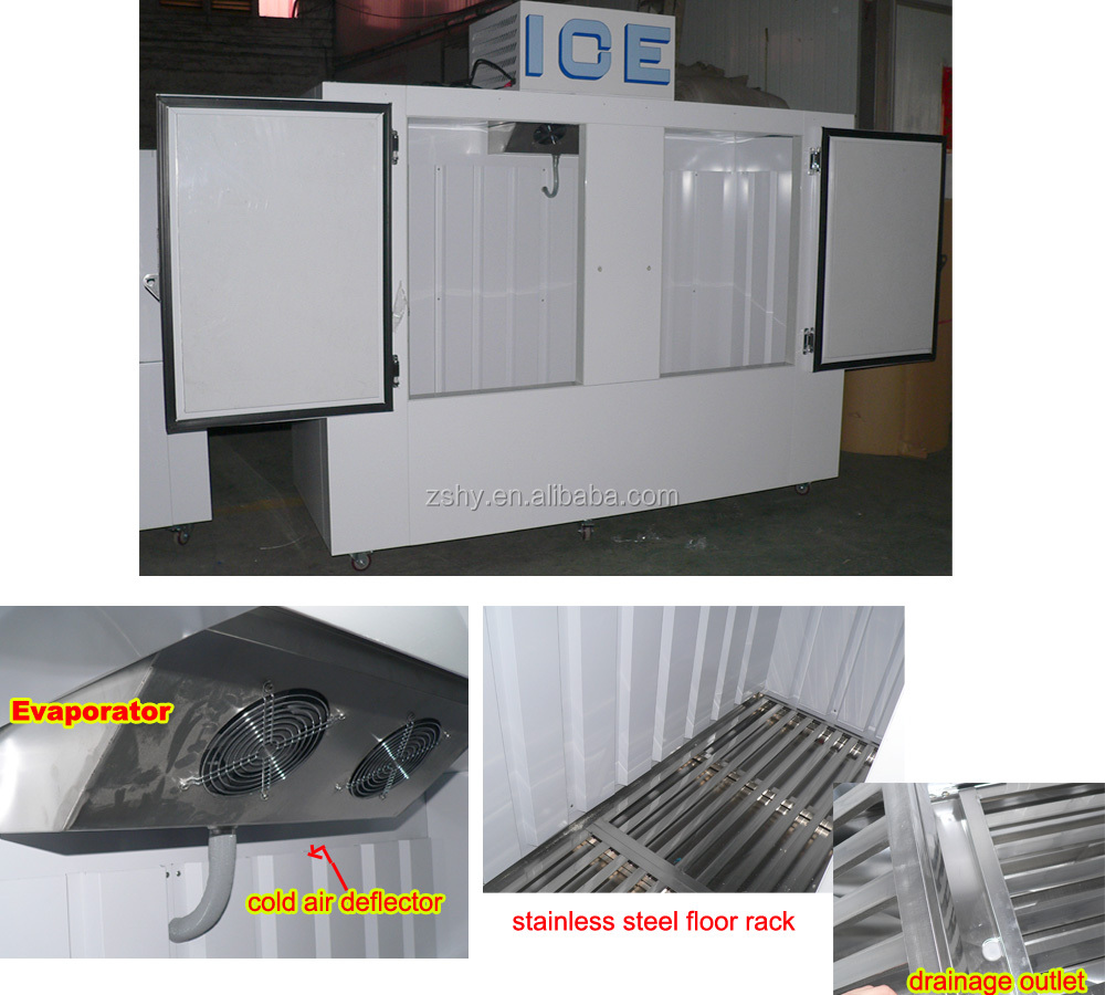 auto defrost ice bag storage freezer of 100 cuft