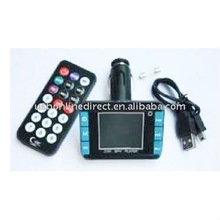 1.8 inch TFT screen car MP4 with FM transmitter Support MP3/WMA Format