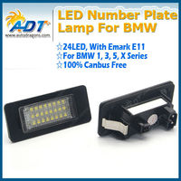 LED license plate light for BMW E39 E60 E61 E82 E88 E90 E92 X5 X6