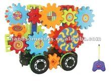 Hot Sale building Blocks Remote Control Car For Children HS0130058