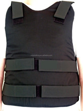 Bullet resistant vest with Aramid soft body armor