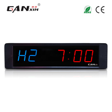 [Ganxin]New Material 1'' Indoor Countdown Fitness Timer Gym Exercise Use Led Sports Timer