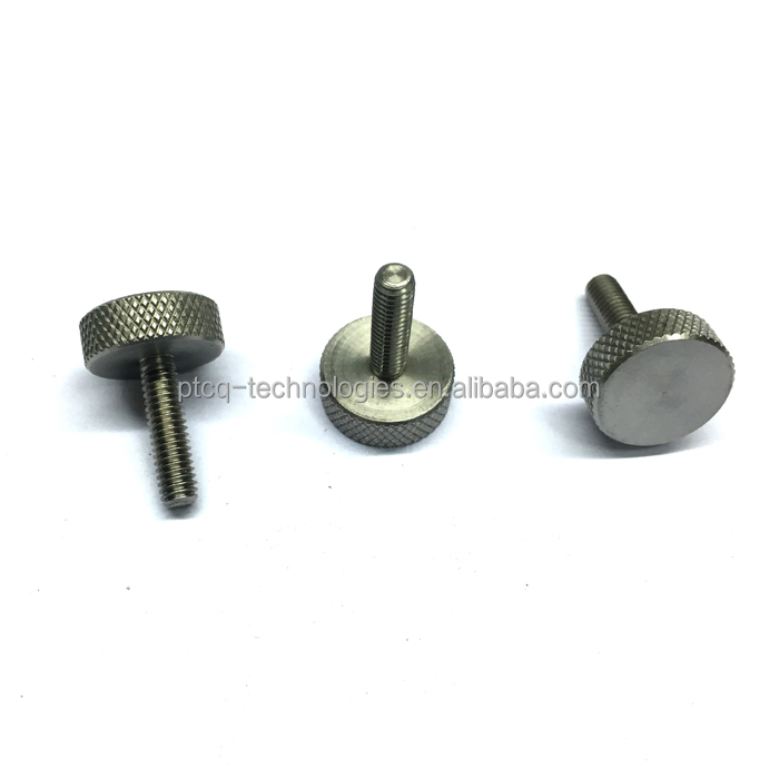 oem different types knurled thumb screw