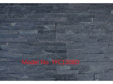 Natural dark grey Stone slate /Exterior Wall Cladding stone