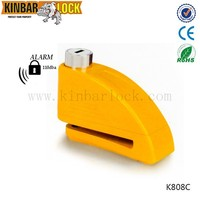 Motorcycle Disc alarm lock