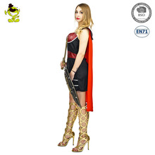 A Halloween new design warrior woman fancy dress