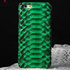 Natural Real Snake Skin Leather Case Protective Back Hard Cover For iPhone 6 mobile phone accessories dubai