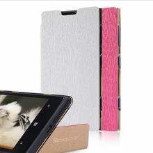 Tree pattern pu leather flip case for Nokia Lumia 1020 mobile phone stand case pouch