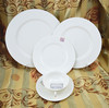 luxury porcelain dinner set,20pcs porcelain dinner set,blank white porcelain dinner set