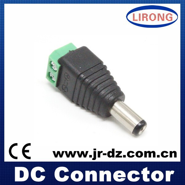 DC PLUG RCA MALE DC Connector For CCTV Cameras