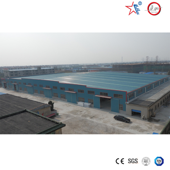 prefabricated steel warehouse/warehouse metallic roof structure/steel structure oversea warehouse project prefabricated