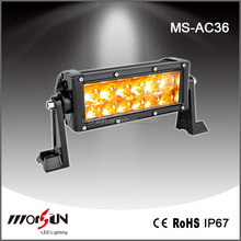 Most popular!36w 7.5inch epistar chip used amber light bars