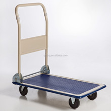 Heavy duty folding platform hand truck Foldable flatbed hand trolley 100kg hand cart PH1501