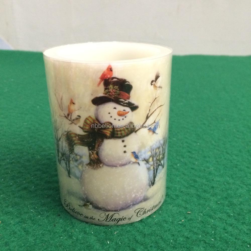 Led Flameless Candle For Christmas Decoration Christmas