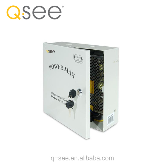 Q-SEE 9 Camera 10 Amps Power Distribution Panel QS1009