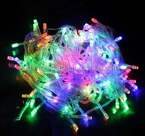 5W AC 220V Warm White Fairy Starry Light LED String light with waterproof for chrismas holiday light