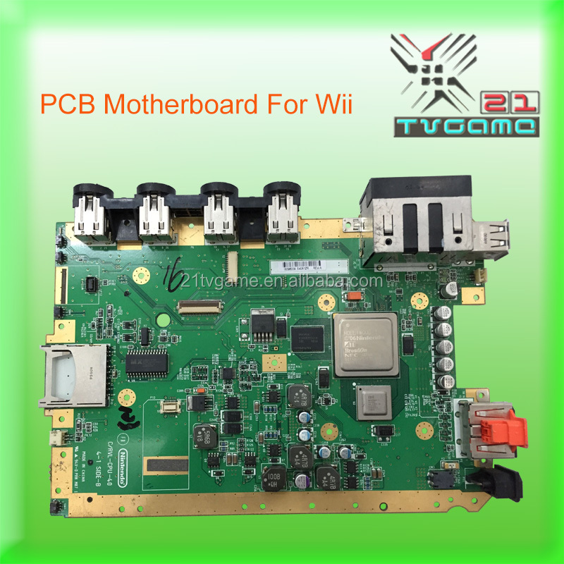 Original PCB Board For Wii main board,Game Spare Parts Motherboard For Wii
