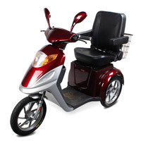 Powerful Motor Rubber Wheels Electric Tricycle