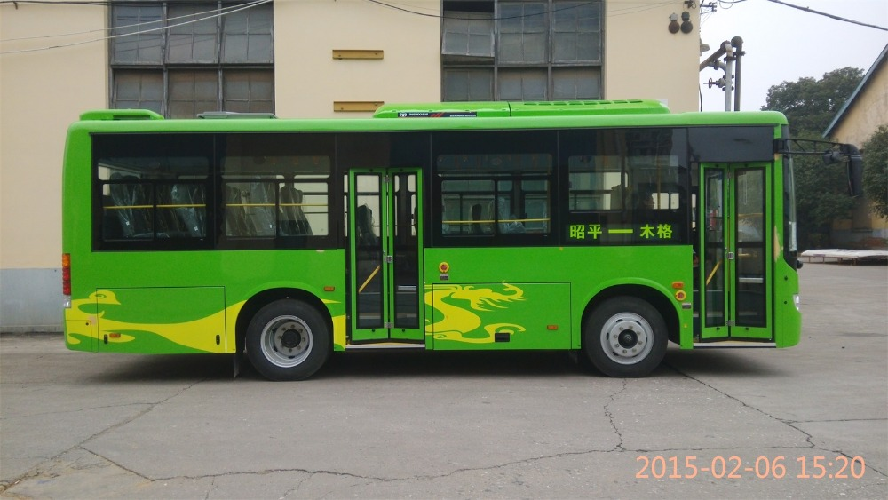 Daewoo new bus color design GDW6832HG