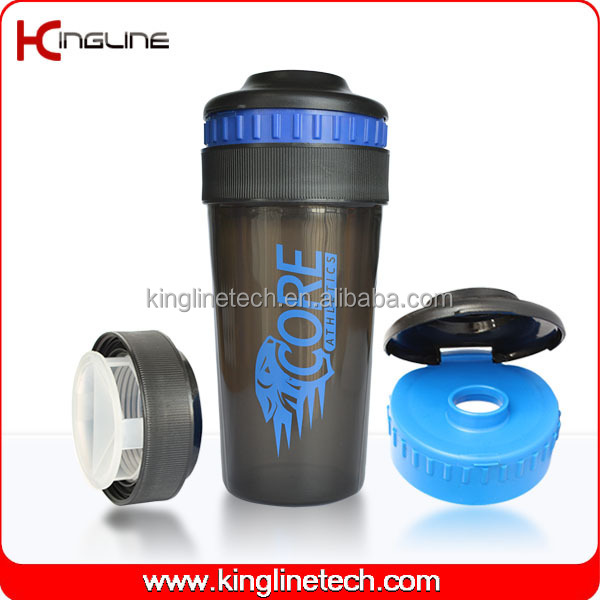 ODM 550ml smart shaker wholesale with lid (KL-7025)