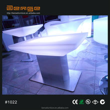 plastic LED table for restaurant/<strong>bar</strong>/coffee shop LED lighting table