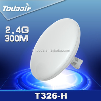 2015 Chinese factory wholesale wireless cpe 2.4G 300Mbps 2km Range