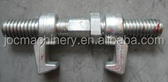 Forged galvanized Screw Bridge Container Fittings