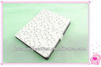 Sequins decoration cover for ipad5 Luxury case for ipad5 with embroidery 9.7inch crystal tablet case for ipad