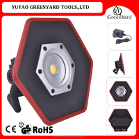rechargeable battery led outdoor flood light 1800lm 20W COB