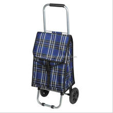 Monroo foldable grocery trolley shopping bags with wheels for shopping
