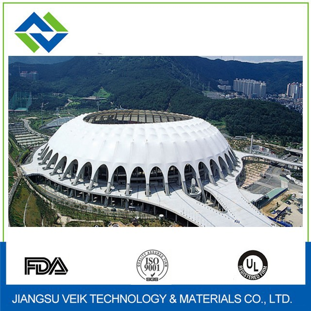 White color ptfe architectural roofing membranes
