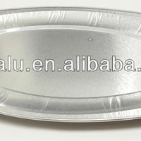 In Flight Aluminum Foil Tray