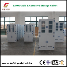 laboratory Medical Chemical Vessel and Reagent PP Storage Cabinet