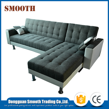 Comfortable leather lazy comfort pu corner sofa