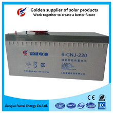 UPS power solar power lighting usage back up Ni-Cd Medium Rate 12V 220Ah Discharge Pocket storage battery