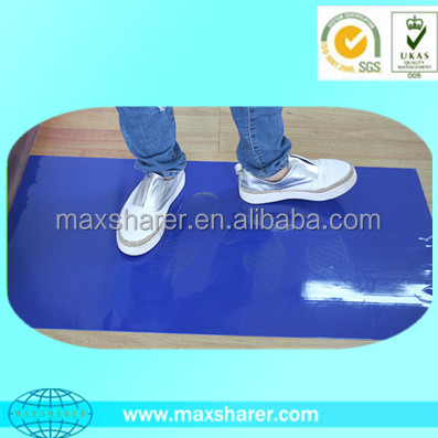 High quality Disposable Blue PE Floor Antistatic Cleanroom Sticky Mat