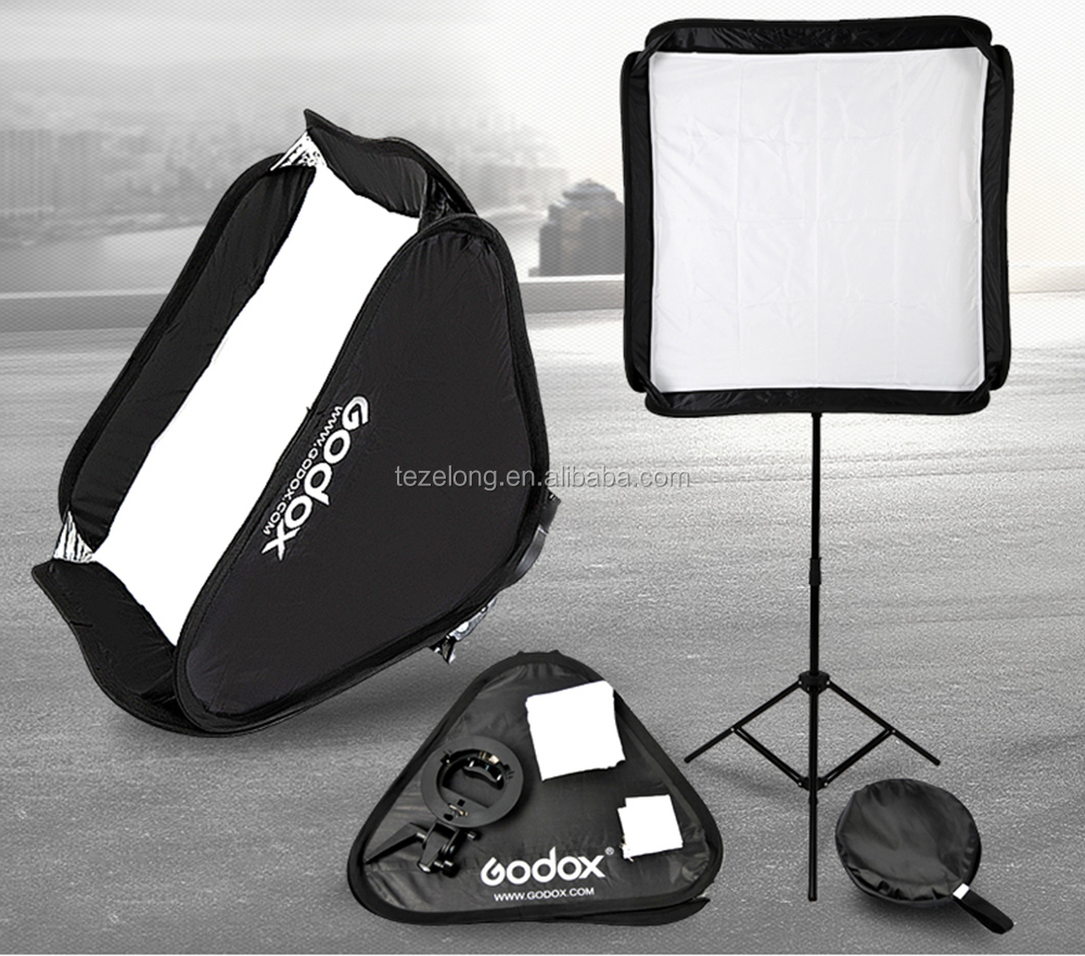 quick set up Mini portable Photographic accessories flash soft 40*40cm soft umbrella + s-type bowens mount for speedlite