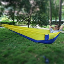 High Strength Wholesale 2 Person Nylon, Parachute Colorful Hammock For Outdoor and Indoor
