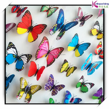 12pcs 3D removable butterfly wall sticker home room decor