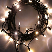 5m Warm White /white christmas party wedding decoration string Lights with Twinkle 50LEDS