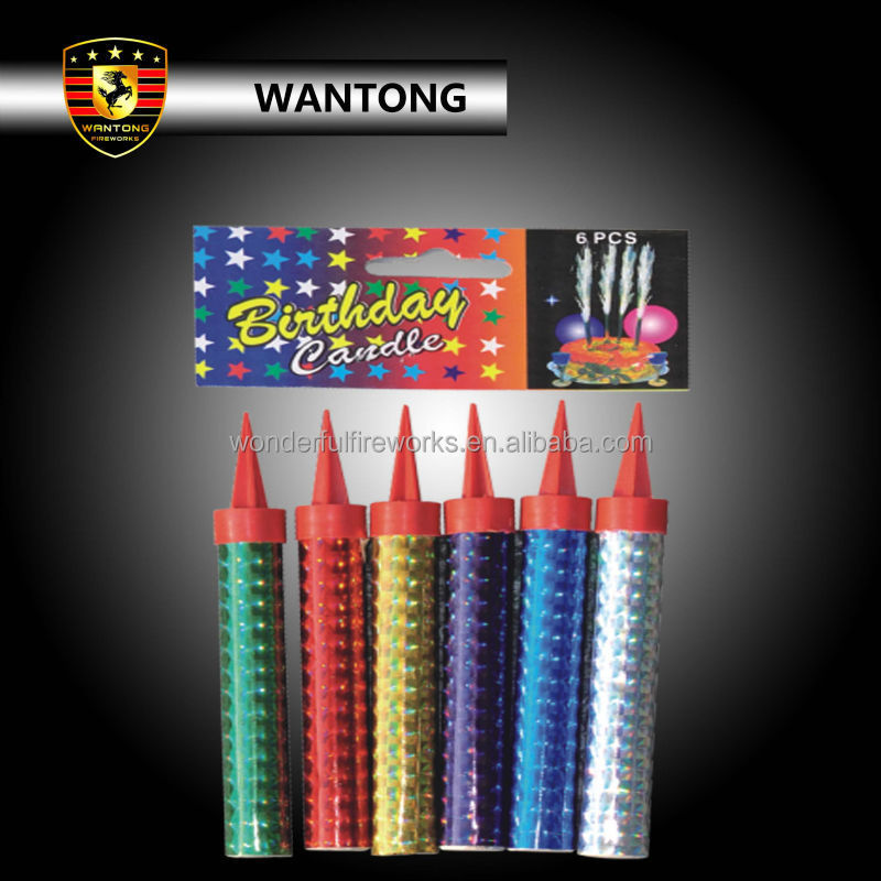 Chinese fireworks wedding cake candles for wholesale