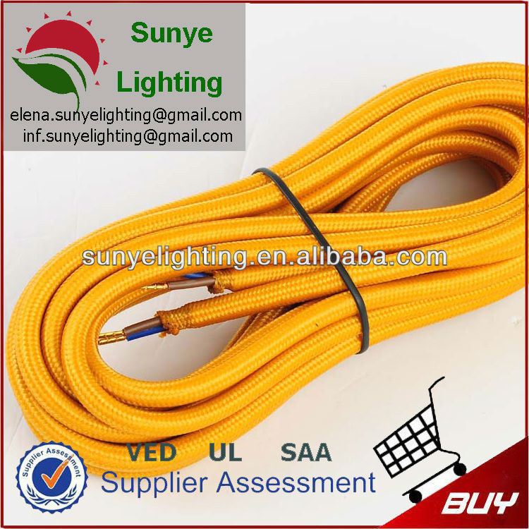 H03vv-f 3*0.75 Colorful Fabric Cable