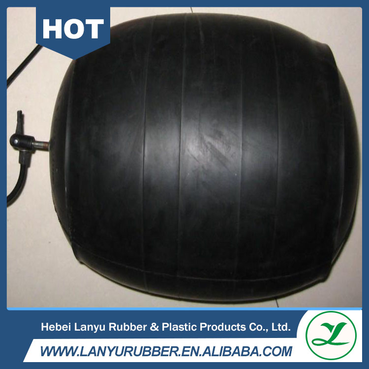 inflatable water pipe plug rubber pipeline stopper
