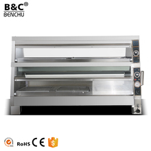 TableTop Stainless Steel Electric Hot Glass Food Warmer Display Showcase for Sale