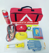 Roadside BreakDown Kit with Warning Triangle and First aid kit
