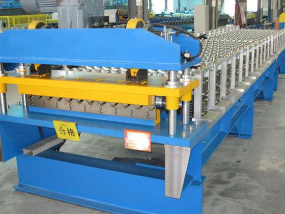 Welcomed decorative corrugated metals roofing sheet machine