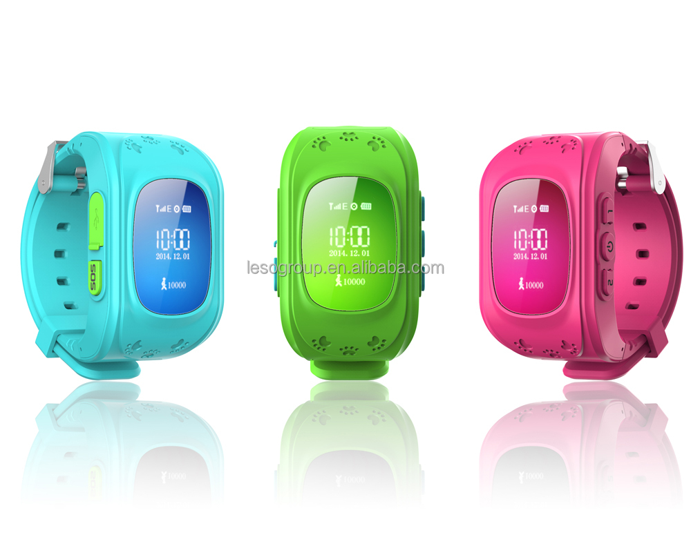 Kids Smart Watch Children Remote Gps Tracker Sos Sim Call ...