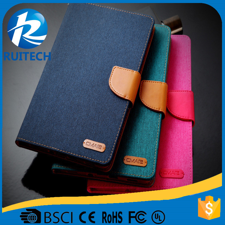 For New iPad Mini luxury leather case with high quality