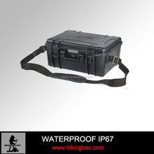 Handle simple plastic Carrying Tool Case/Shockproof equipment case with Lock Item No HTC013